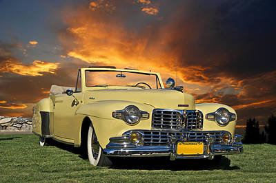 1947 Lincoln Continental Cabriolet Print by Dave Koontz
