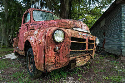 Andy Crawford Photograph - 1948 Dodge Pickup by Andy Crawford