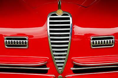 1949 Alfa Romeo 6c 2500 Ss Pininfarina Cabriolet Grille Original by Jill Reger