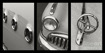 1949 Buick Triptych  Print by Dennis Hedberg