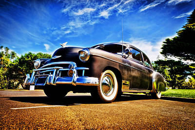 D700 Photograph - 1949 Chevrolet Deluxe by motography aka Phil Clark