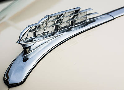 1949 Plymouth Hood Ornament Print by Classic Visions