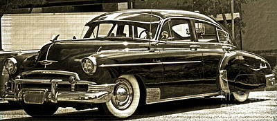 1950 Chevrolet Print by Gwyn Newcombe