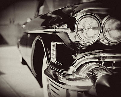 1950s Cadillac No. 1 Print by Lisa Russo