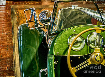 Artistic Photograph - 1951 Mg Td by Photo Captures by Jeffery