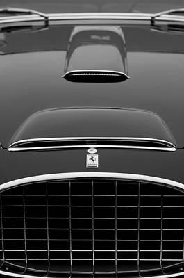 1952 Photograph - 1952 Ferrari 342-375 America Pinin Farina Cabriolet Grille by Jill Reger
