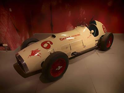 1952 Ferrari 375 Indy Racer Print by Mountain Dreams