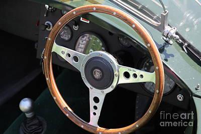 1952 Jaguar Xk120 Roadster 5d22971 Print by Wingsdomain Art and Photography