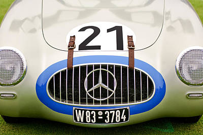 1952 Mercedes-benz W194 Coupe Print by Jill Reger