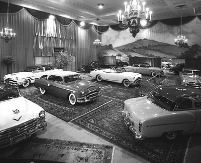 1953 Auto Show Print by Underwood Archives