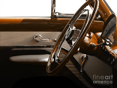 Ford Photograph - 1953 Mercury Bucket  by Steven  Digman