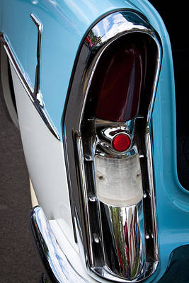 Cars Photograph - 1956 Buick Century by David Patterson