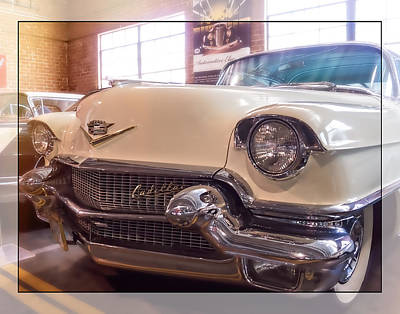 Oldzero Photograph - 1956 Cadillac Deluxe by Steve Benefiel