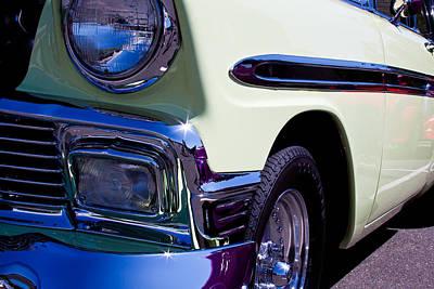 1956 Chevy Bel Air Custom Hot Rod Print by David Patterson