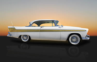 Fury Photograph - 1956 Hemi-powered Plymouth Fury by Frank J Benz