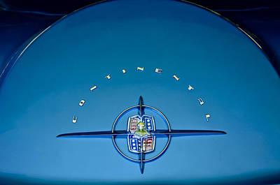 1956 Lincoln Continental Mark II Emblem Print by Jill Reger