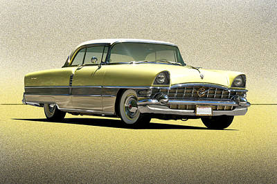 1956 Packard 'the Four Hundred' Print by Dave Koontz