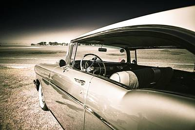 Phil Motography Clark Photograph - 1957 Chev Bel Air by motography aka Phil Clark