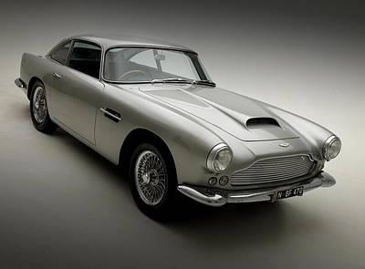 1958 Aston Martin Db4 Print by Gianfranco Weiss