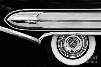 1958 Buick Special Monochrome Print by Tim Gainey