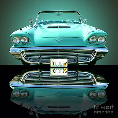 Thunderbirds Photograph - 1959 Ford T Bird by Jim Carrell