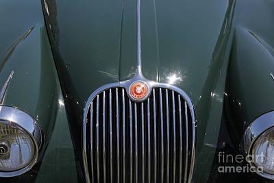1959 Jaguar Xk150 Dhc 5d23301 Print by Wingsdomain Art and Photography