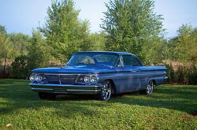 1959 Pontiac Bonneville Photograph - 1959 Pontiac Bonneville by Tim McCullough