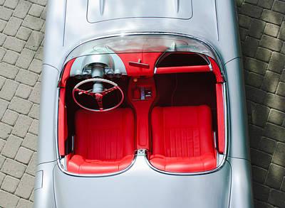 1960 Chevrolet Corvette Interior Print by Jill Reger