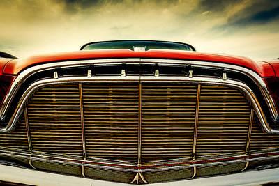 1960 Desoto Fireflite Coupe Grill Print by Jon Woodhams