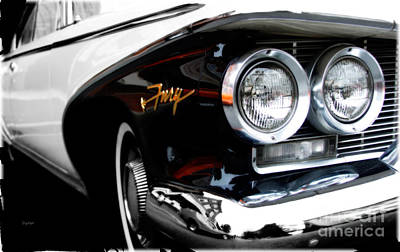 Fury Photograph - 1960 Plymouth Fury  by Steven  Digman