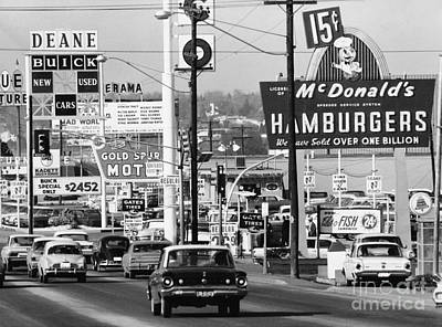 1960s Denver Scene Print by Myron Wood
