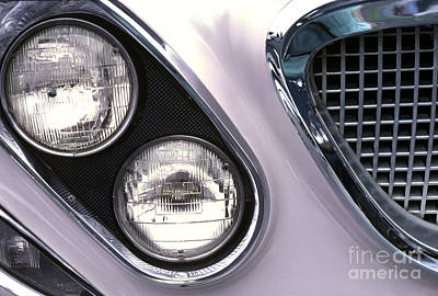 1962 Chrysler Newport Front End Print by Anna Lisa Yoder