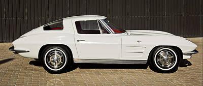 1963 Photograph - 1963 Chevrolet Corvette Split Window -575c by Jill Reger