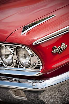 1963 Ford Galaxie 500 Xl Print by Gordon Dean II