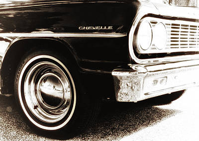 Car Photograph - 1964 Chevelle by Bill Cannon