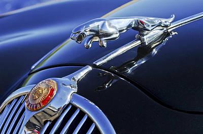 1964 Photograph - 1964 Jaguar Mk2 Saloon by Jill Reger