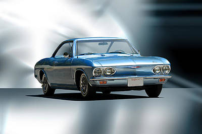 1965 Chevrolet Corvair I Print by Dave Koontz