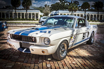 1965 Ford Shelby Mustang  Print by Rich Franco