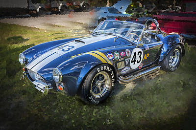 Carroll Shelby Photograph - 1966 Ford Ac Cobra 427 Big Block  by Rich Franco