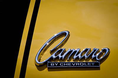 Camaro Photograph - 1969 Chevy Camaro Z28 by David Patterson