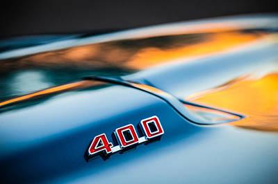 1969 Photograph - 1969 Pontiac 400 Firebird Convertible -1039c by Jill Reger