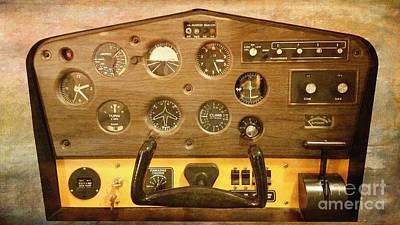 Photograph - 1970s Flight Simulator  by Liane Wright