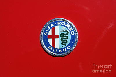 1972 Alfa Romeo Junior 1600 5d23147 Print by Wingsdomain Art and Photography