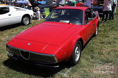 Old Milano Photograph - 1972 Alfa Romeo Junior 1600 5d23151 by Wingsdomain Art and Photography