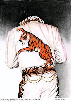 1974 Mad Tiger Suit Print by Rob De Vries