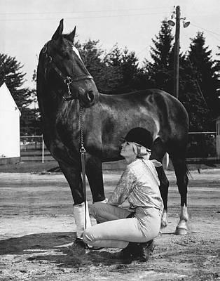 1975 Rockingham Park Vintage Horse Racing Print by Retro Images Archive
