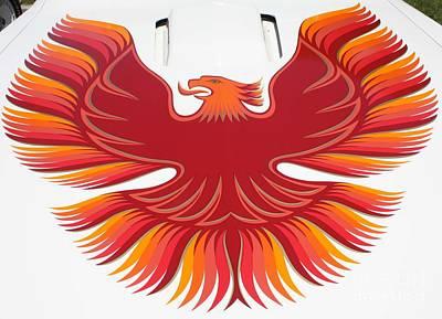 Telfer Photograph - 1979 Pontiac Firebird Emblem by John Telfer