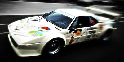 Phil Motography Clark Photograph - 1980 Bmw M1 Procar by Phil 'motography' Clark