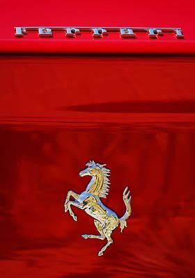 1999 Ferrari 550 Maranello Emblem -651c Original by Jill Reger