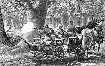 Horse And Cart Photograph - 19th Century Game Drive by Bildagentur-online/tschanz